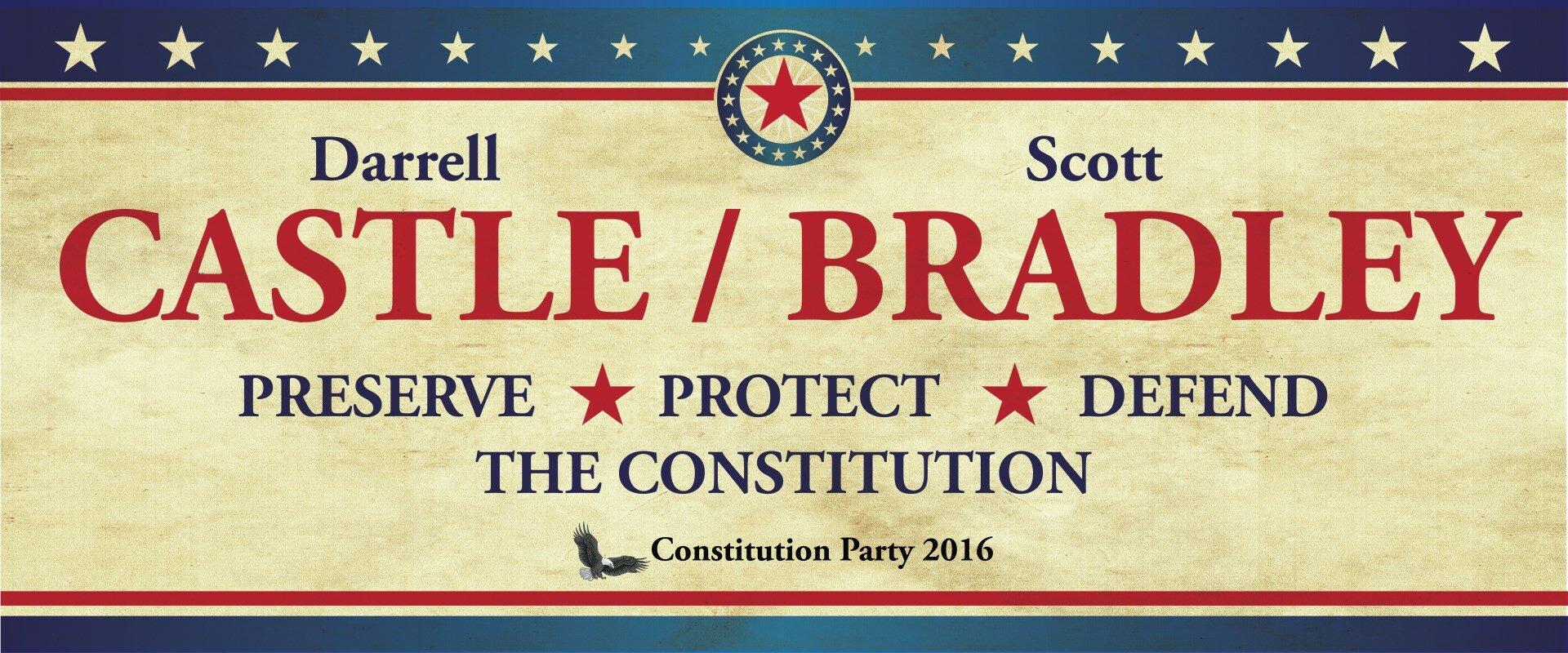 Castle 2016 Darrell Castle For President